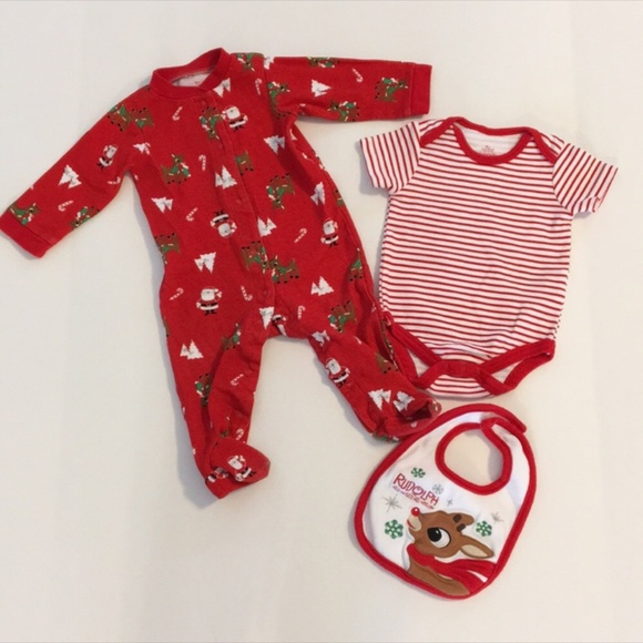a88d5b8a74f3 Rudolph the Red Nosed Reindeer Pajamas
